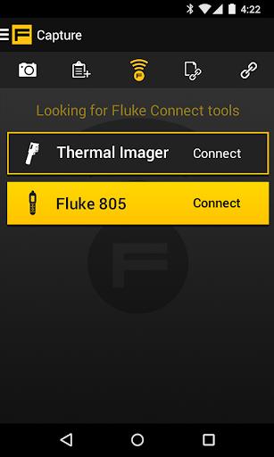 لقطات شاشة Fluke Connect 1