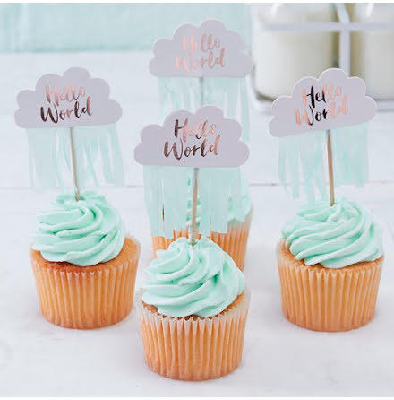 Cupcaketoppers - Hello World