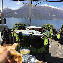 Nilus  Varenna Lake Como Italy cheese and meat tray with gf bread.