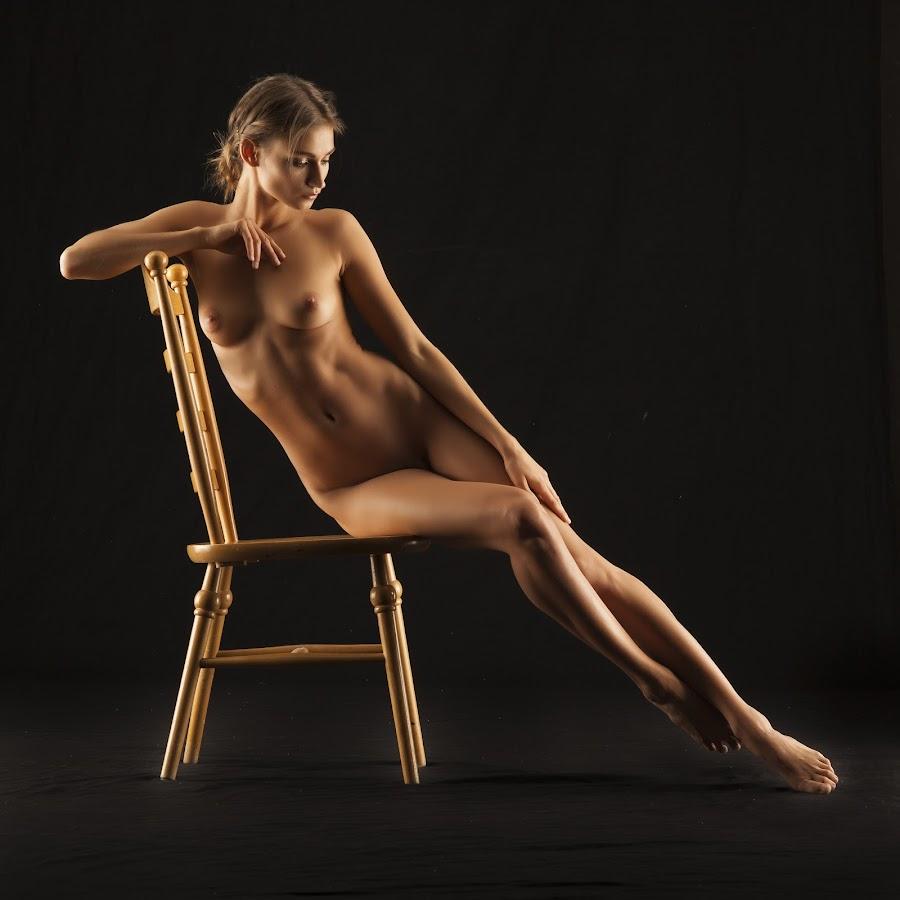 Girl on a chair by John Einar Sandvand - Nudes & Boudoir Artistic Nude