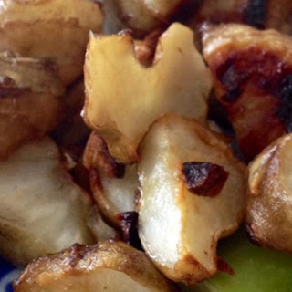 Roasted Jerusalem Artichokes (or Sunchokes).