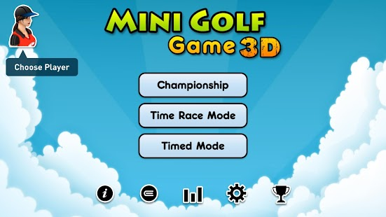 Mini Golf Game 3D- screenshot thumbnail