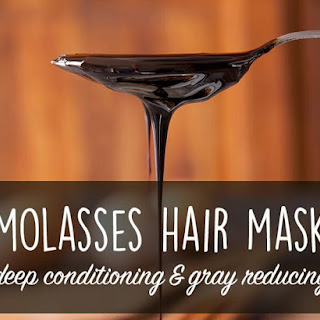 Deep Conditioning Molasses Hair Mask