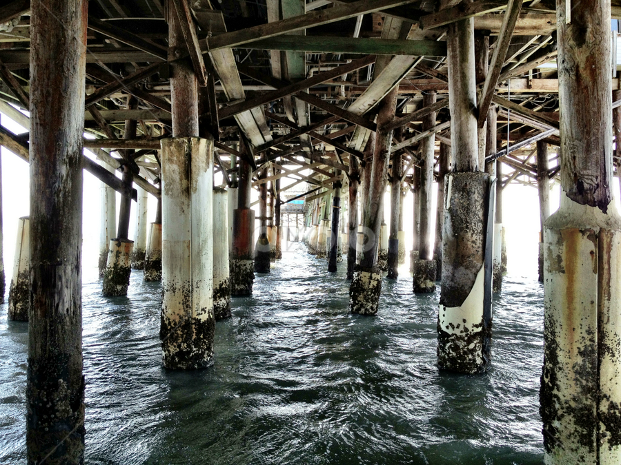 Cocoa Beach Pier by Ludwig Wagner - Instagram & Mobile iPhone