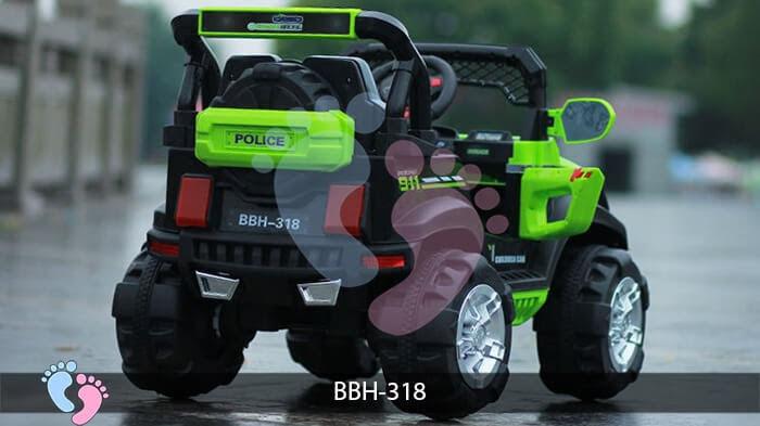 Ô tô điện trẻ em BBH-318 kiểu Police 6
