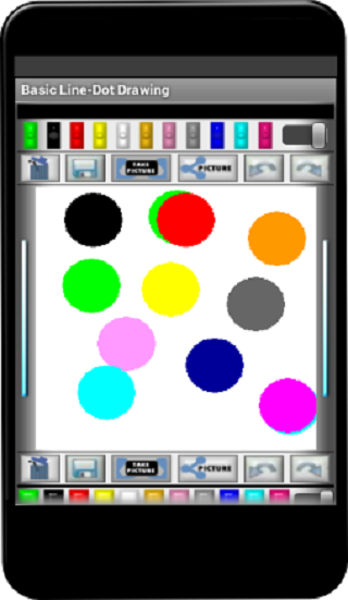 Basic Line-Dot Drawing- screenshot