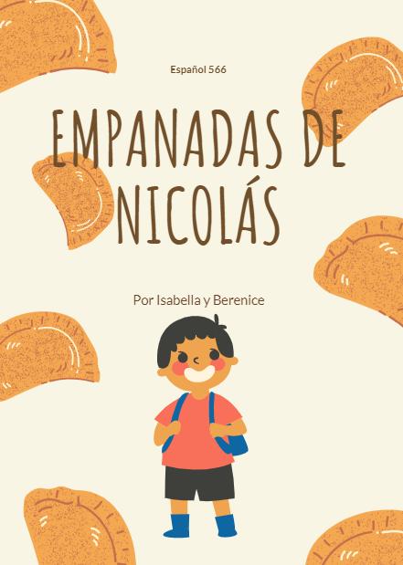cover of picture book, Empanadas de Nicolás
