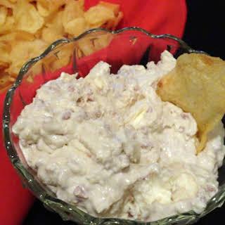Bacon-Horseradish Chip Dip.