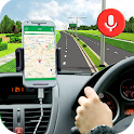 GPS Voice Navigation Direction & Maps Route Finder icon