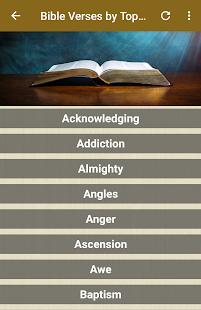 Bible verses by topic for PC-Windows 7,8,10 and Mac apk screenshot 2