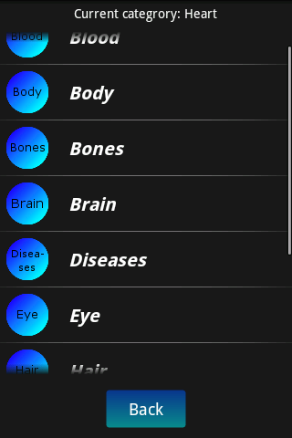 Human Body Facts screenshot 2