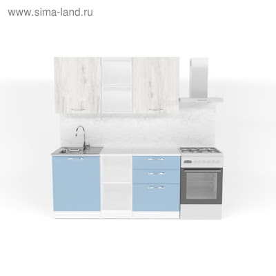Кухонный гарнитур Мария стандарт 5 1600 мм