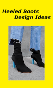 Heeled Boots Design Ideas - náhled