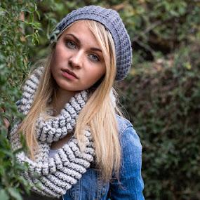 Jen by Leanne Vorster - People Portraits of Women ( natural light, blonde, model, outdoor, portrait )