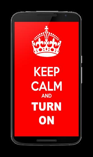 Keep Calm light linterna. 1.0.4 screenshots 1