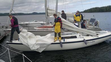 Photo: Digian mes-purjehdus Mämminniemessä.
