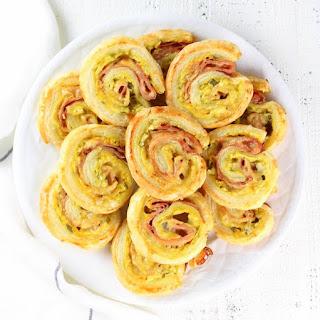 Hot Cheesy Cuban Rollups Recipe