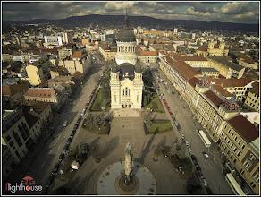Photo: Cluj - Piata Avram Iancu - 2014.02.18 De pe Facebook - Flighthouse Aerial Photography -  https://www.facebook.com/flighthousecluj/photos/a.599219823478920.1073741828.599197573481145/633967203337515/?type=3&theater