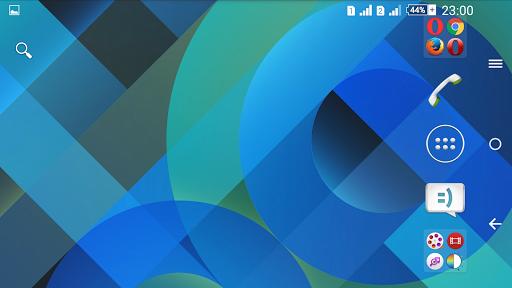 Pattern Blue Theme For Xperia screenshot 6