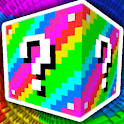 Lucky Block MOD for MCPE and Lucky Race Map icon