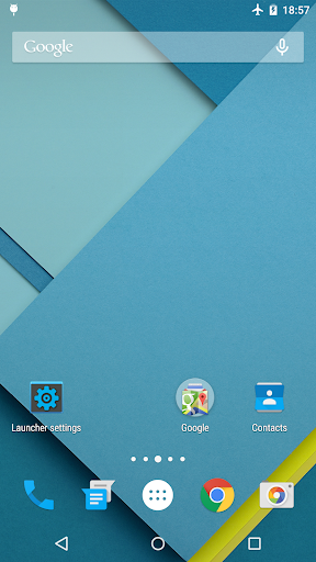 Lollipop Launcher 1.3.1 screenshots 1