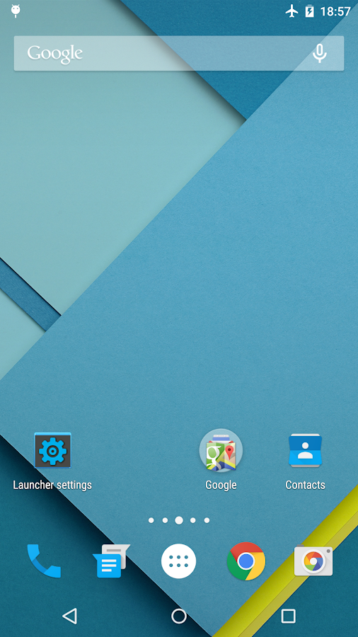 Lollipop Launcher- screenshot