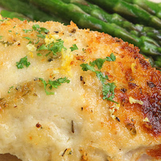 Garlic-Lemon Brie Chicken