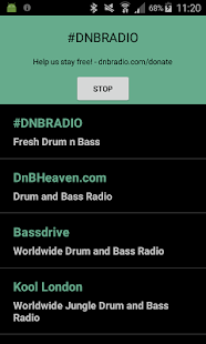 Drum and Bass Radio Screenshot