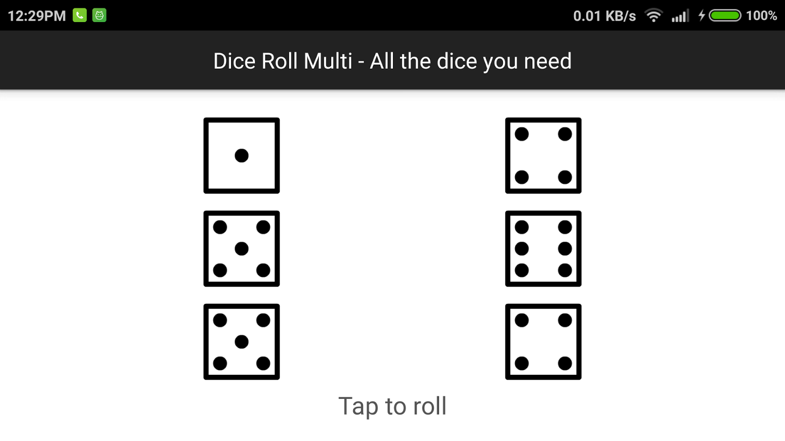 Dice Roll Multi- screenshot