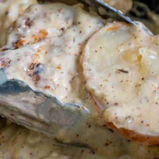 Dijon Pork Chops and Potatoes Recipe