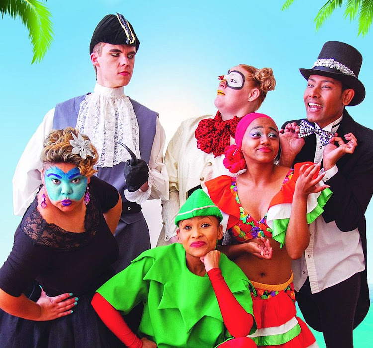 The cast of 'The Christmas Adventures of Peter Pan and the Pirates'