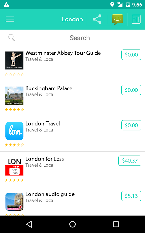 AppsMapper - Travel Apps- screenshot