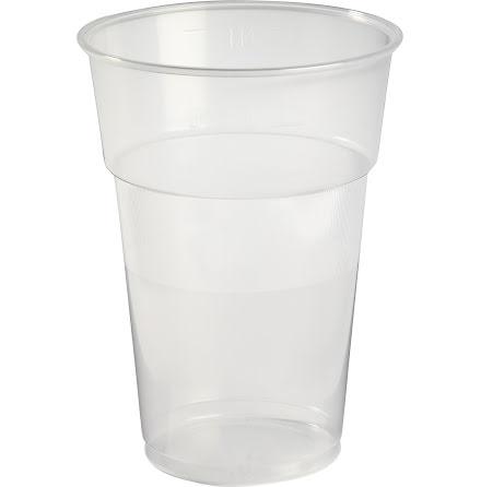 Plastglas          50cl 40/rör