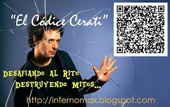 Photo: Teoría El Códice Cerati en tu herramienta móvil  Un espacio singular http://infernomax.blogspot.com.ar/