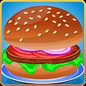 Cooking Tasty Hamburger icon