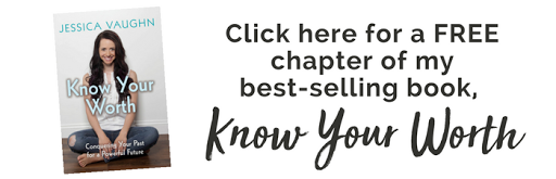 Click here for a FREE chapter of my best-selling book, Know Your Worth!