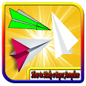 How to Make a Paper Aeroplane icon