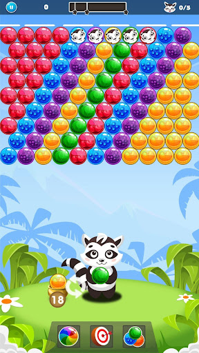 Raccoon Bubbles - Bubble Shooter 1.2.4 screenshots 1