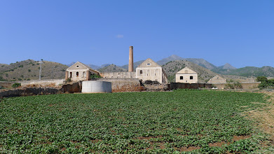 Photo: Ruins of San Joaquin sugar refinery near Maro