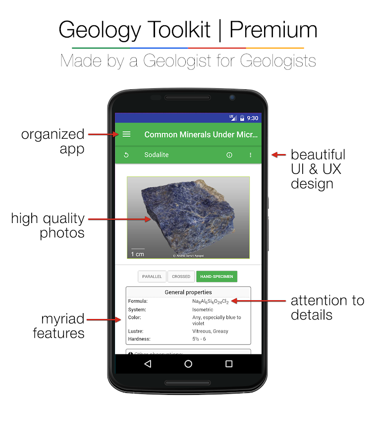 Geology Toolkit Premium- screenshot
