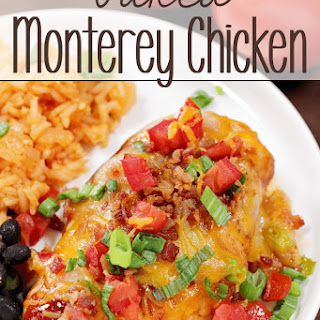 Baked Monterey Chicken.