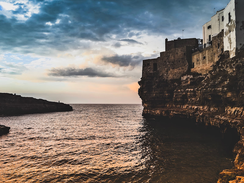 Sunset in Polignano di Giovanni Stricagnolo