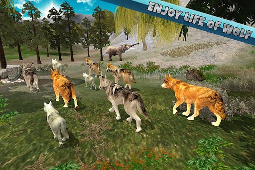 Arctic Wolf Family Simulator  screenshots 6
