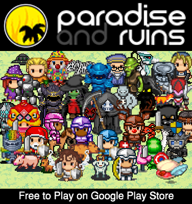 Paradise and Ruins 2D MMORPG MMO RPG Online 1.58610 screenshots 1