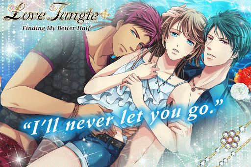 Love Tangle - otome game/dating sim #Shall we date  captures d'écran 1