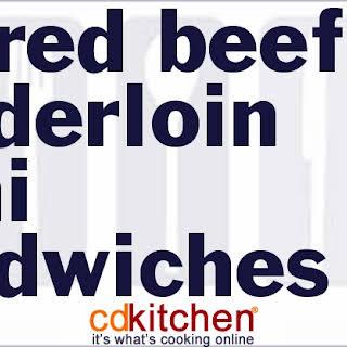Beef Tenderloin Sandwiches Recipes.