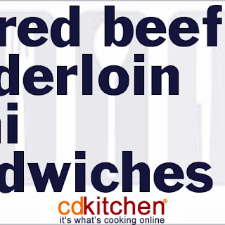 Beef Tenderloin Sandwiches Recipes.