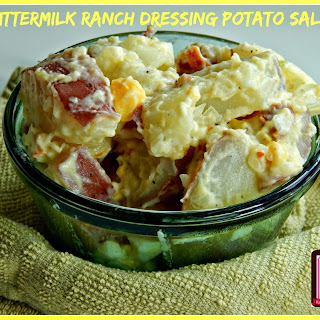 Buttermilk Ranch Dressing Potato Salad