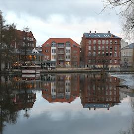 Refleksion  by Karl Erik Straarup - City,  Street & Park  City Parks
