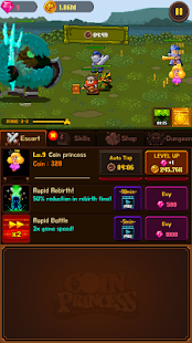 Coin Princess VIP: Retro RPG Quest Screenshot